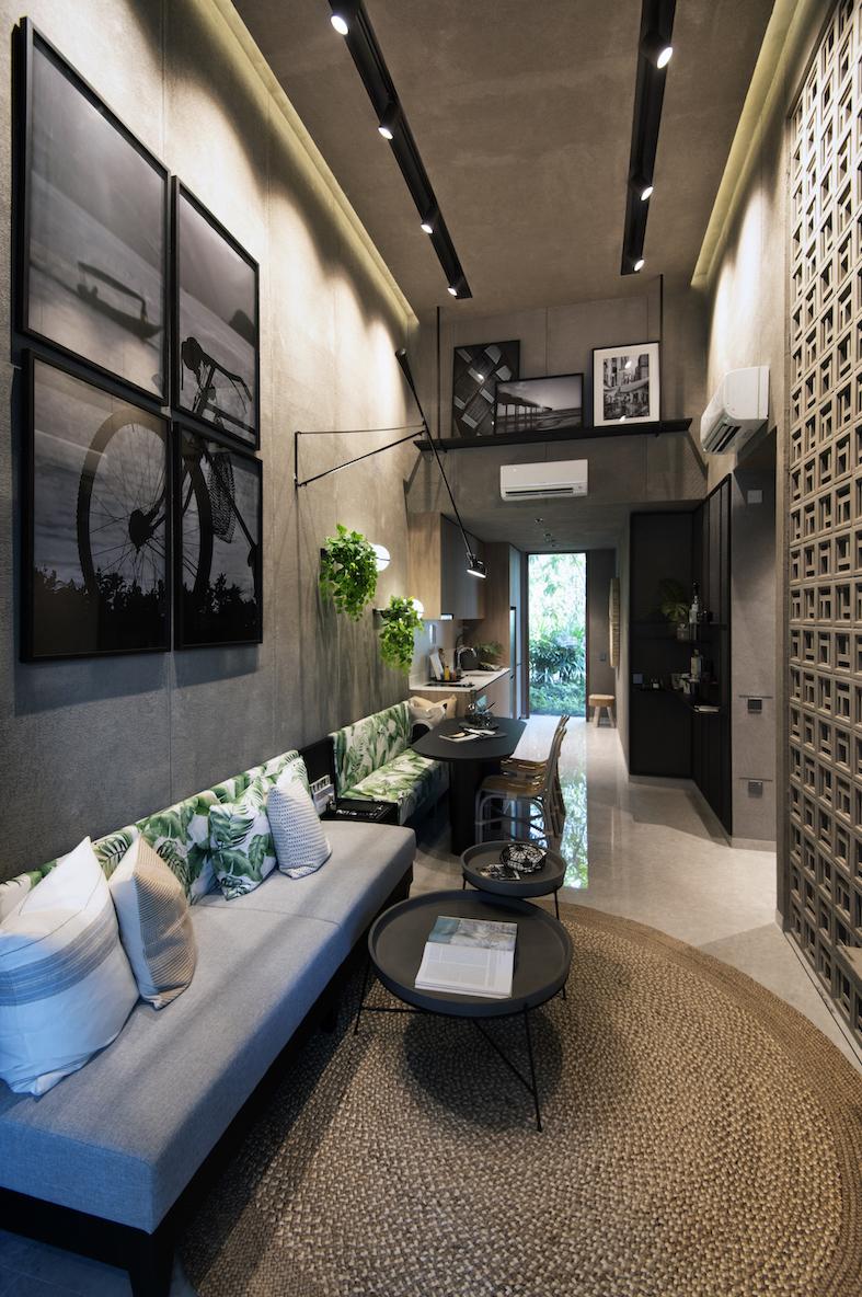 4.6 米挑高天花板的两卧 Loft 风格公寓(图片来源:Albert Chua / EdgeProp Singapore) - EDGEPROP SINGAPORE
