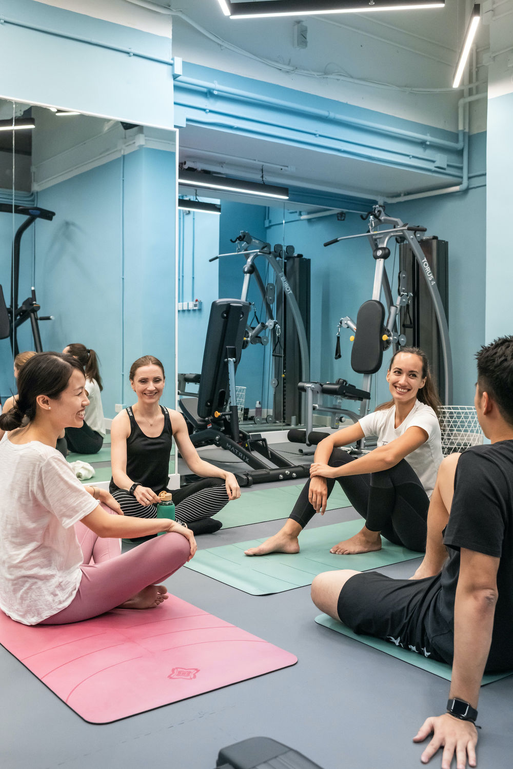 EDGEPROP SINGAPORE - The gym at Weave on Baker is one of the shared recreational amenities featured at the 95-unit co-living property in Hung Hom, Kowloon (Photo: Weave Co-Living