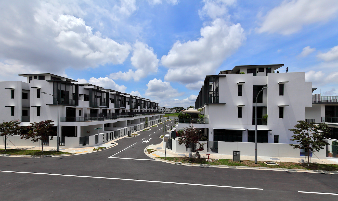 At Luxus Hills, Bukit Sembawang sold 25 out of 39 terraced houses released in the Contemporary Collection (Photo: Samuel Isaac Chua/EdgeProp Singapore)