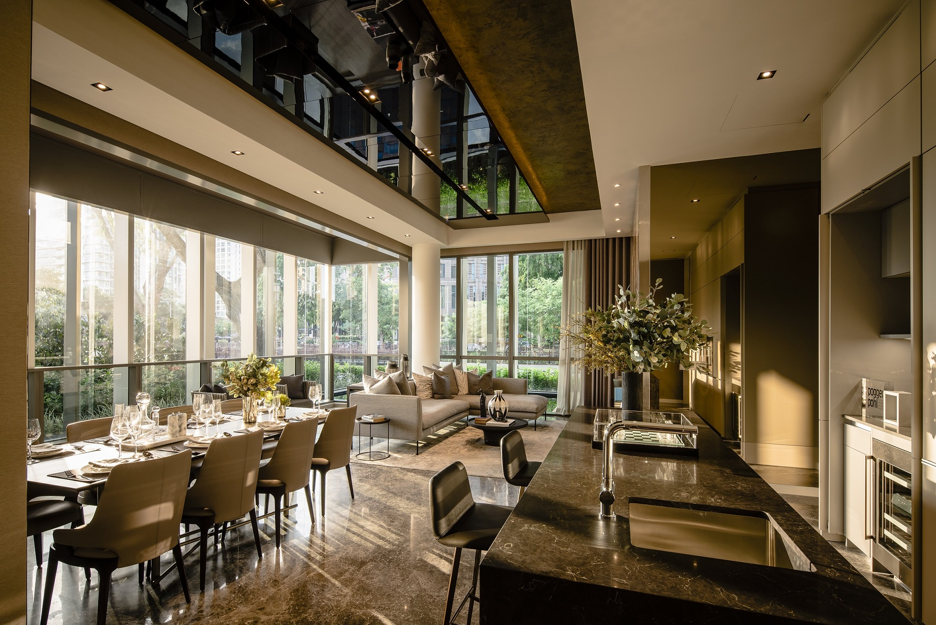 PETER TAY - Showflat of a luxurious four-bedroom unit at Riviere designed by Tay  - EDGEPROP SINGAPORE
