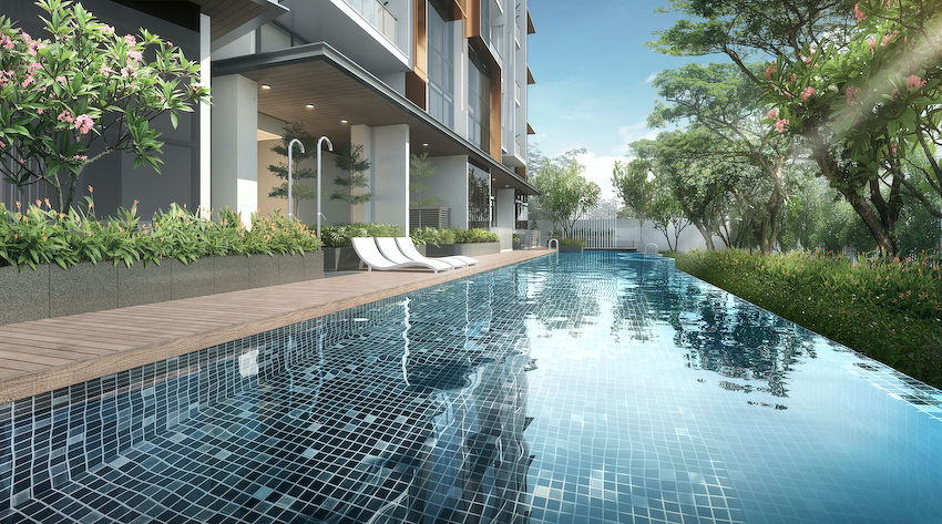 EDGEPROP SINGAPORE - The majority of the units are two- and three-bedroom apartments, with condo facilities such as a 25m swimming pool (Picture: Wenul)