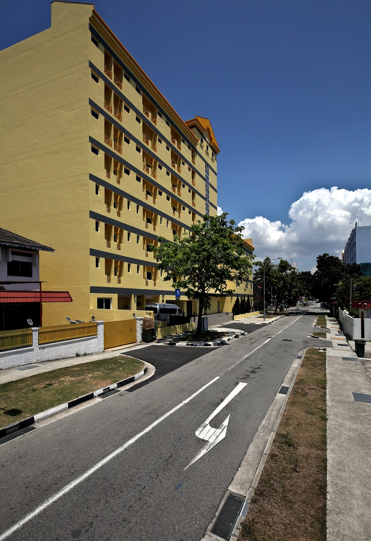 The ibis budget Crystal is located along Lorong 18, which was once-upon-a-time the more notorious streets in Geylang (Photo: Samuel Isaac Chua/EdgeProp Singapore) - EDGEPROP SINGAPORE