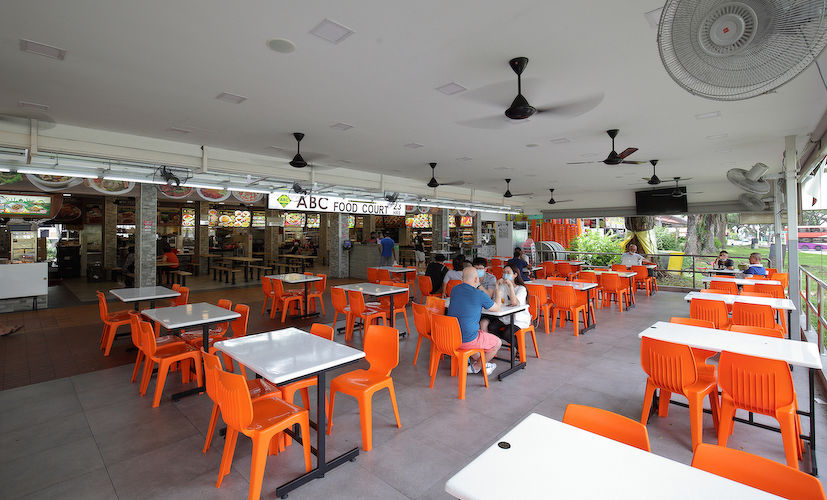 EDGEPROP SINGAPORE - The 3,907 sq ft, Halal food court at Ang Mo Kio Avenue 10 owned by Loo and his business partners (Photo: Samuel Isaac Chua/EdgeProp Singapore)