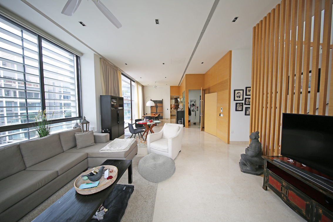 A 4,715 sq ft, duplex penthouses at Urban Suites is on the market for $13.5 million ($2,863 psf) [Photo: SRI]