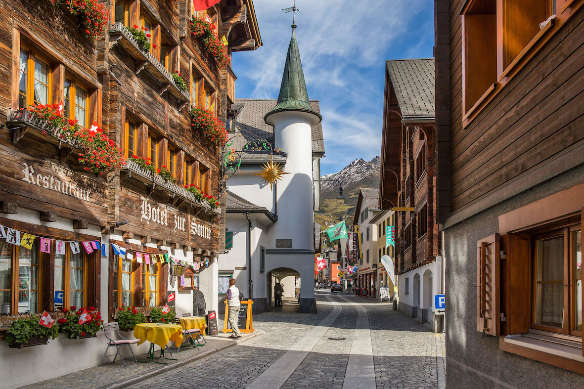 The Swiss vacation home market has benefited from favourable economic conditions in recent years (Photo: Andermatt Swiss Alps)