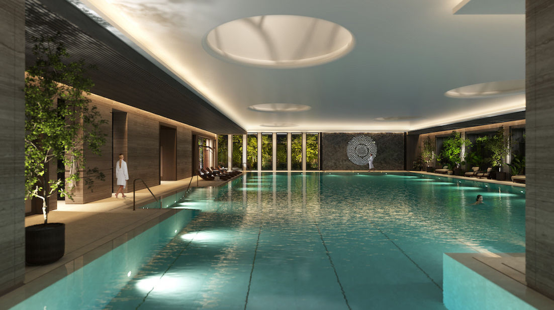 One-Thames-City-Pool-Night - EDGEPROP SINGAPORE