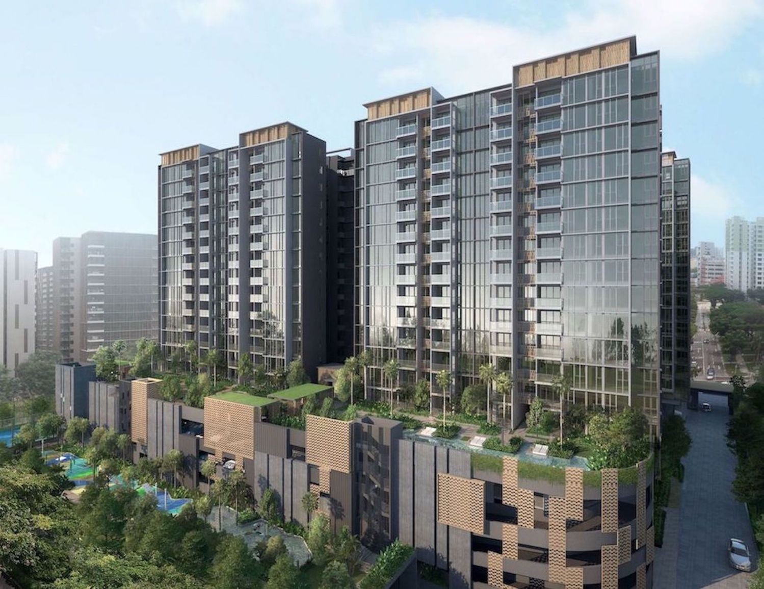 UPDATE] Over 60% of units sold at launch of Penrose - Singapore Property  News