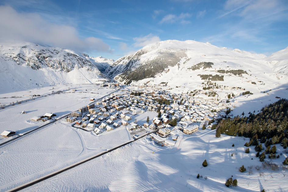 The most significant investment has been in expanding the ski area, which has doubled in size; and it's a major catalyst for  growth in demand from property owners and tourists in the region (Photo: Andermatt Swiss Alps)