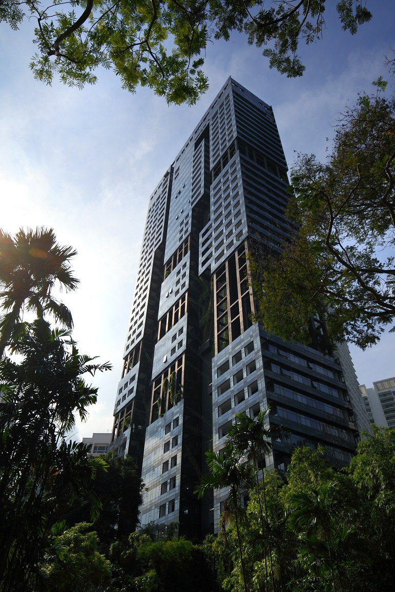 NOUVEL 18 - One of the two luxury residential towers that make up Nouvel 18