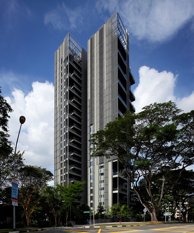 YTL Land&Development 开发的豪华公寓项目乌节三翠林共有 77 套单位(图片来源:Samuel Isaac Chua/EdgeProp Singapore)