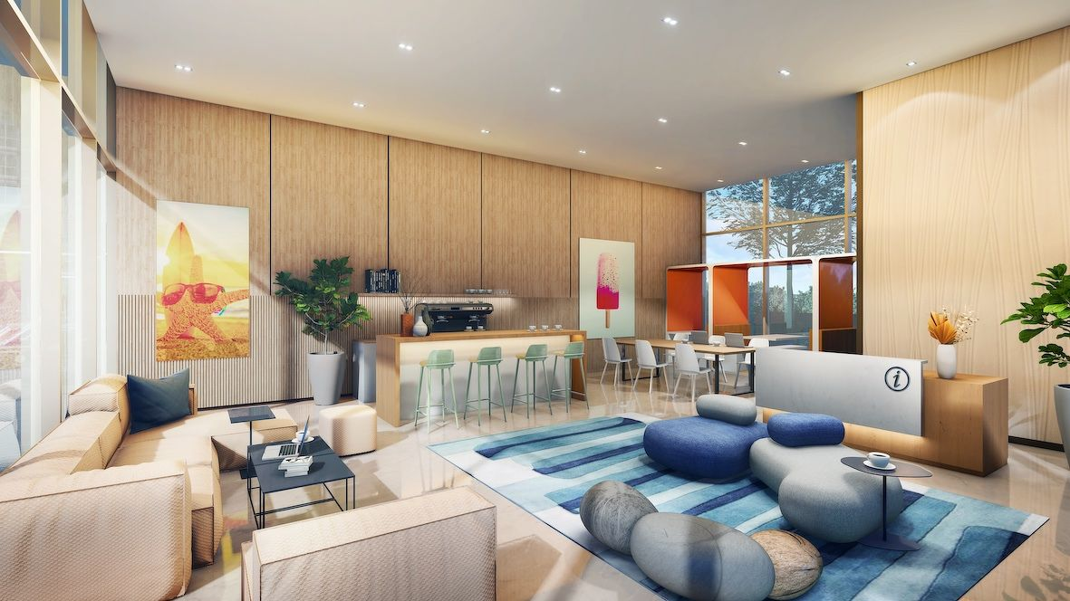 Artist's impression of the clubhouse lounge - EDGEPROP SINGAPORE