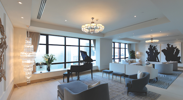 The mega unit at The Ritz-Carlton Residences that was sold for $20 million to a Chinese buyer