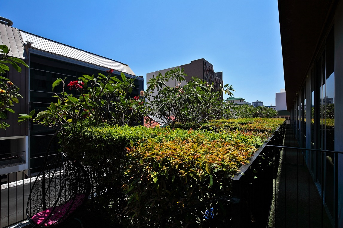 The garden wing of Parc Sovereign Hotel - Tyrwhitt (Photo: Samuel Isaac Chua/EdgeProp Singapore) - EDGEPROP SINGAPORE