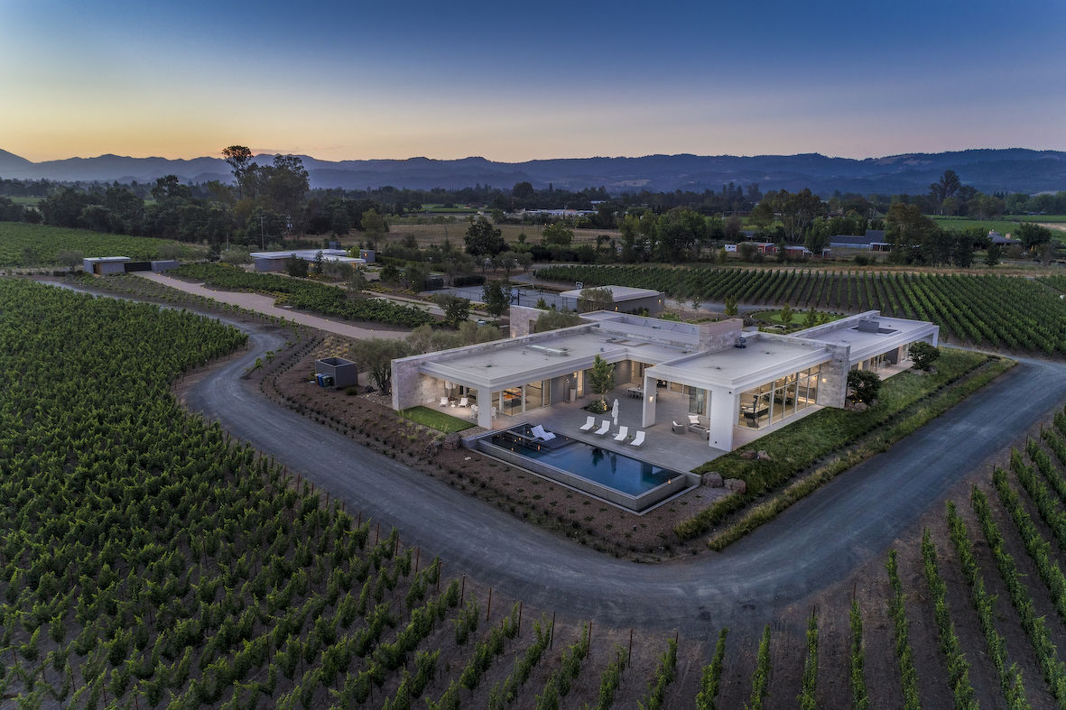 EDGEPROP SINGAPORE - The boutique vineyard in Napa Valley, California that Savills Singapore's Private Office is marketing at US$40 million (Photo: The Private Office,Savills Singapore)