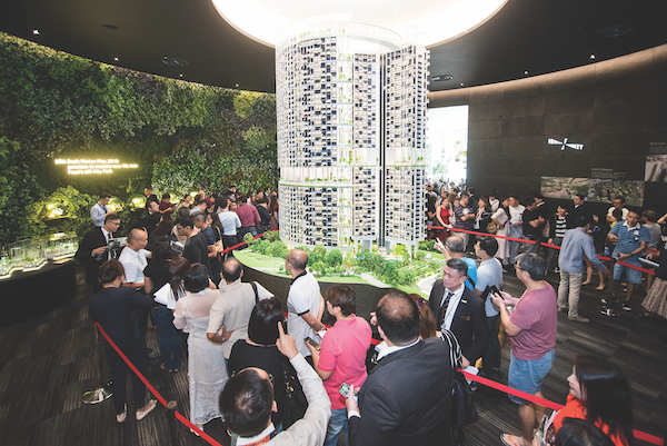 About 251 units (32%) of the units have been sold since its launch in July, with average price of $2,386 psf as at Dec 20 (Photo: CapitaLand)