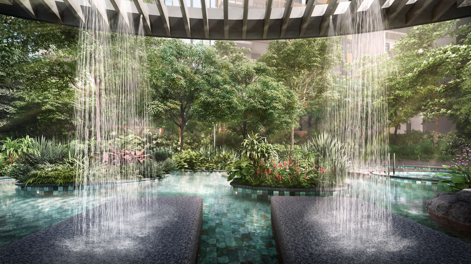Hydrotherapy spa pool - EDGEPROP SINGAPORE