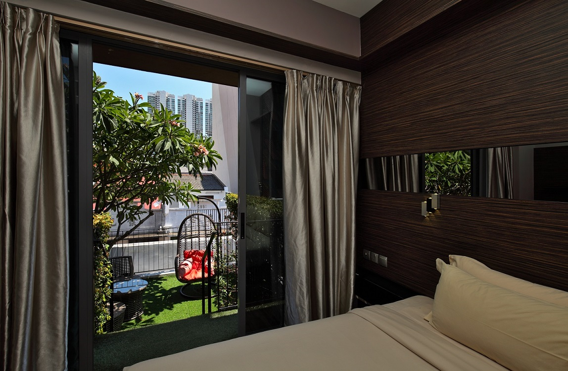 One of the rooms at Parc Sovereign Hotel - Tyrwhitt, which is the biggest hotel in Global Premium Hotels portfolio, and will be rebranded Mercure by Accor under the franchise arrangement (Photo: Samuel Isaac Chua/EdgeProp Singapore) - EDGEPROP SINGAPORE