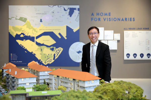 Liam: UOL has a dedicated and robust team in place. We have continued to strengthen the top leadership. We have been focusing on integration and harnessing the talent from UOL and its subsidiaries (Photo: Samuel Isaac Chua/EdgeProp Singapore)