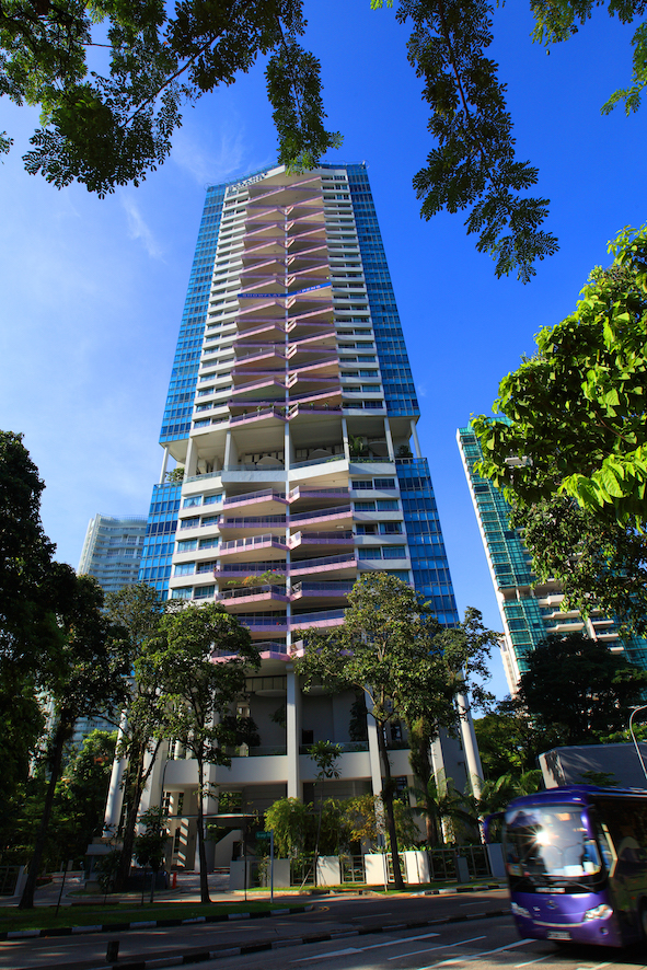 At Grange Infinite, the most recent transaction was for a 2,368 sq ft, three-bedroom unit on the seventh floor that was sold for $4.5 million ($1,900 psf), according to a caveat lodged in May 2019 (Photo: The Edge Singapore)