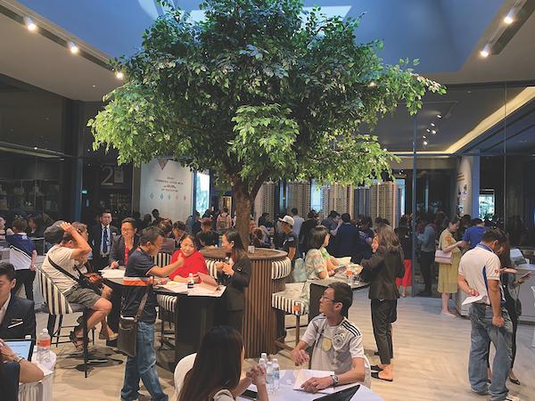 拥有1468套单位的锦泰门第(Parc Clematis)是2019年推出的四个超级开发项目之一,每个项目拥有1,000套或更多单位。(图片: EdgeProp Singapore)