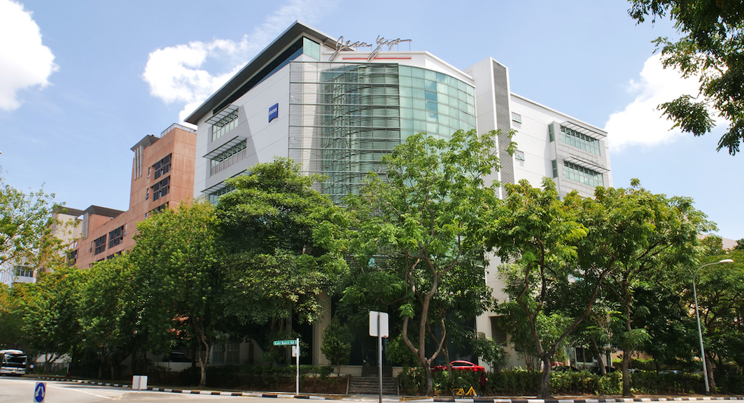 Jean Yip Building was the first development project undertaken by Oliver (Photo: Jean Yip Group)