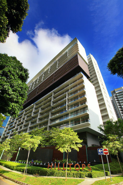 Prices of three- and four-bedroom units at Hilltops in Cairnhill Circle were recently sold at prices ranging from 5.43 million ($3,133 psf) to $7.85 million ($3,299 psf) [Photo: The Edge Singapore]