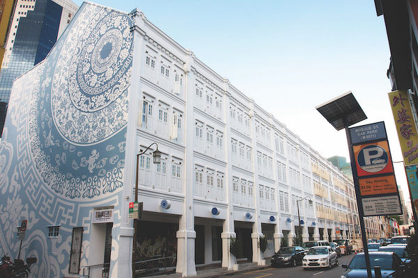 EDGEPROP SINGAPORE - The exterior of The Porcelain Hotel, where the name and branding was inspired by the rooms (Photo: Samuel Isaac Chua/EdgeProp Singapore)