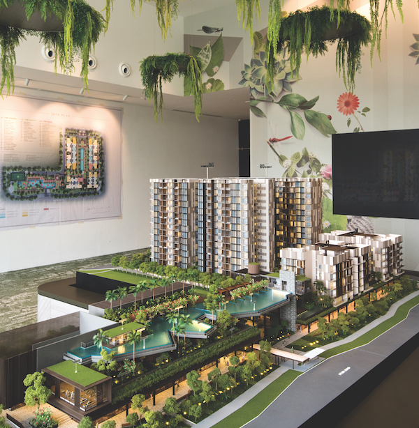 The 460-unit Dairy Farm Residences sits on a 211,488 sq ft, 99-year leasehold site at the corner of Dairy Farm Road and Petir Road (Photo: Albert Chua/EdgeProp Singapore)