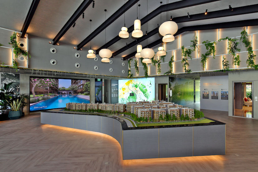 The Watergardens at Canberra Scale model - EDGEPROP SINGAPORE