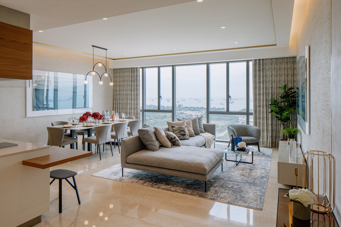 Sizes of one to four-bedroom units are comparably bigger than apartments in the downtown area (Photo: M+S) - EDGEPROP SINGAPORE