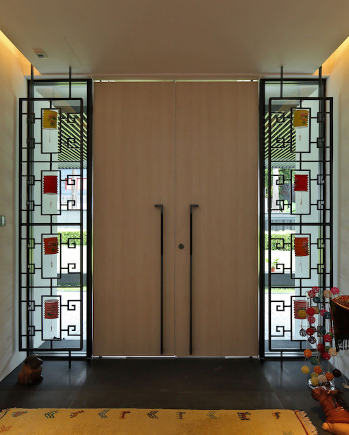 decorative panels for the new doorway - EDGEPROP SINGAPORE
