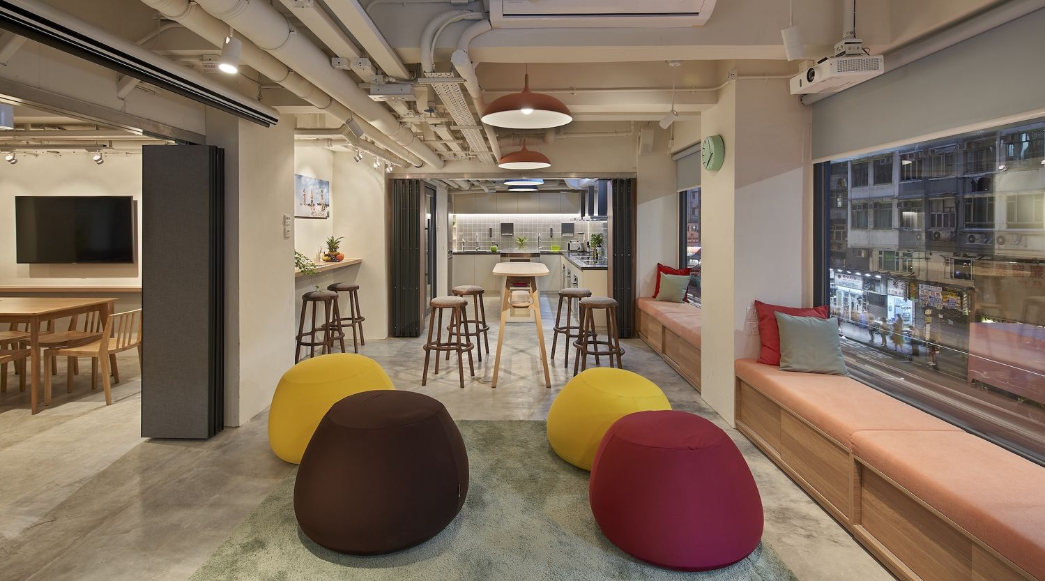 EDGEPROP SINGAPORE - The shared kitchen and dining area at Weave on Boundary, which opened two years ago (Photo: Weave Co-Living) - EDGEPROP SINGAPORE