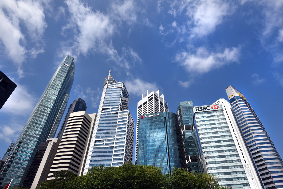 Office rental index in the Central Region registered a decrease of 3.2% q-o-q in 4Q2019, a steeper than the -0.6% q-o-q in 3Q2019 (Photo: Albert Chua/EdgeProp Singapore)