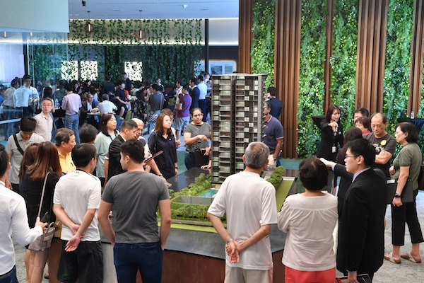 The 139-unit, freehold Amber 45 is 80% sold to date since its launch in May last year (Photo: UOL Group) - EDGEPROP SINGAPORE
