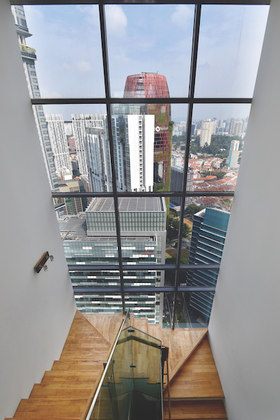 View of the city from the penthouse of Lumiere (Credit: Albert Chua/EdgeProp Singapore) - EDGEPROP SINGAPORE