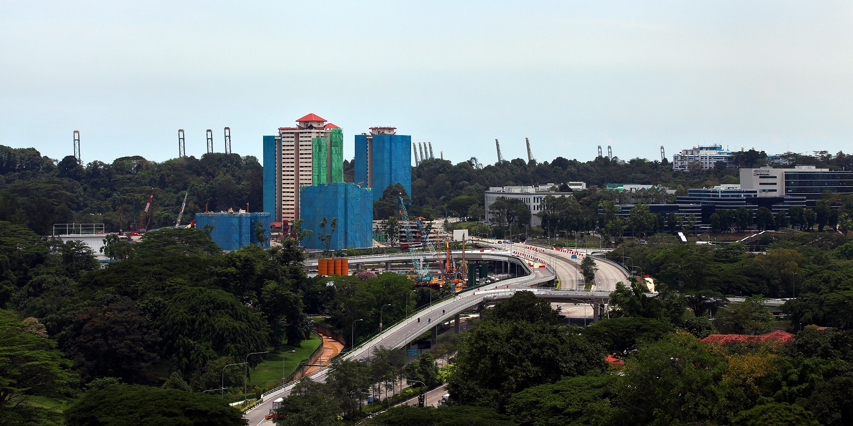 Normanton Park - The former Normanton Park site, where developer Kingsford Huray Development was issued a no-sale licence by the Comptroller of Housing (Credit: Samuel Isaac Chua/EdgeProp Singapore)