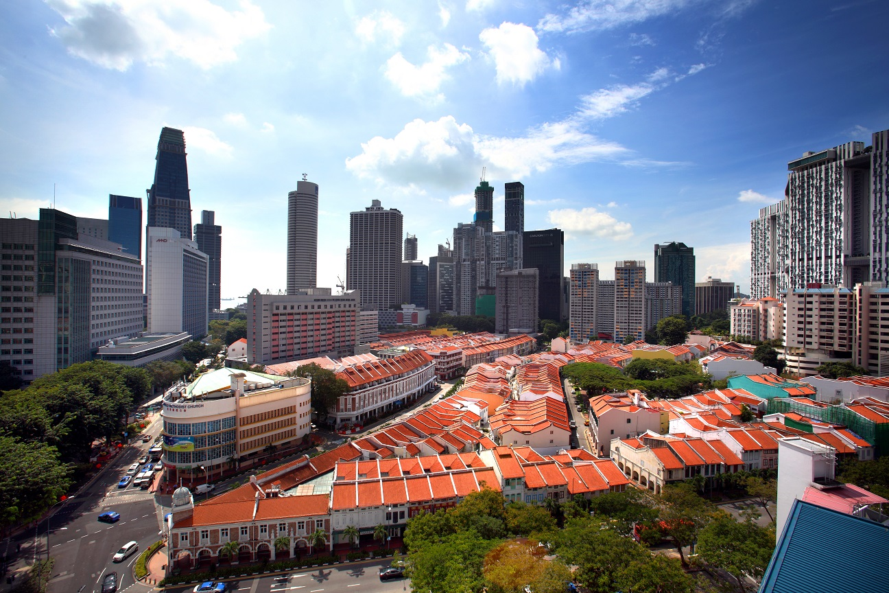 GLS SITE - The Tanjong Pagar area, where the tender for the site on Bernam Street closed on Sept 5 and drew four bids (Photo: Samuel Isaac Chua/EdgeProp Singapore)