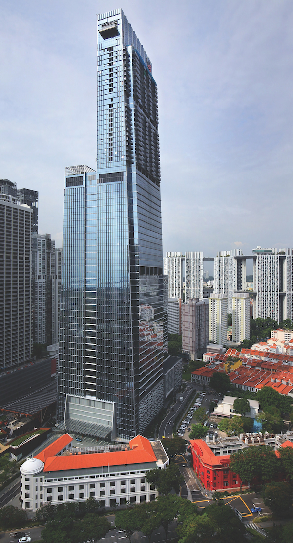 Wallich Residence is situated on the 39th to 64th floors of Tanjong Pagar Centre, with the 21,109 sq ft super penthouse at the crown - EDGEPROP SINGAPORE