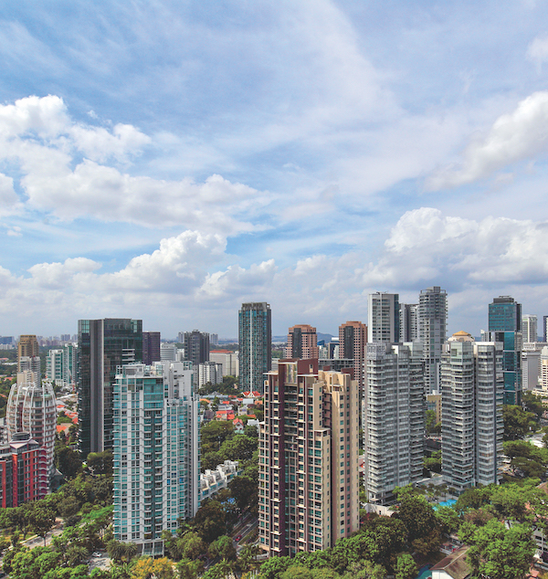 Next year, 15 of the 37 projects (about 41%) are in prime Districts 9, 10 and 11 (Photo: Samuel Isaac Chua/EdgeProp Singapore)