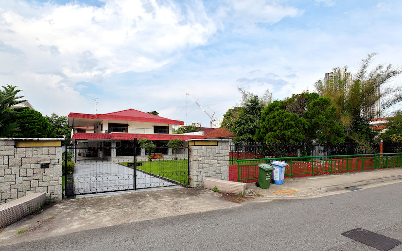 The bungalow site at Broadrick Road - EDGEPROP SINGAPORE