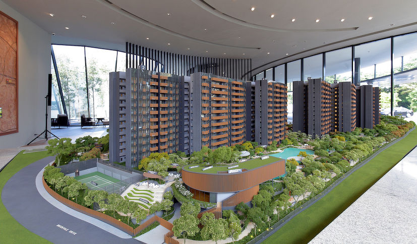 Ki Residences scale model - EDGEPROP SINGAPORE
