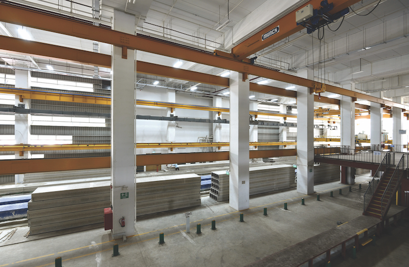 SOILBUILD - he precast plant at Soilbuild Prefab Innovation Hub in Defu South Street 1