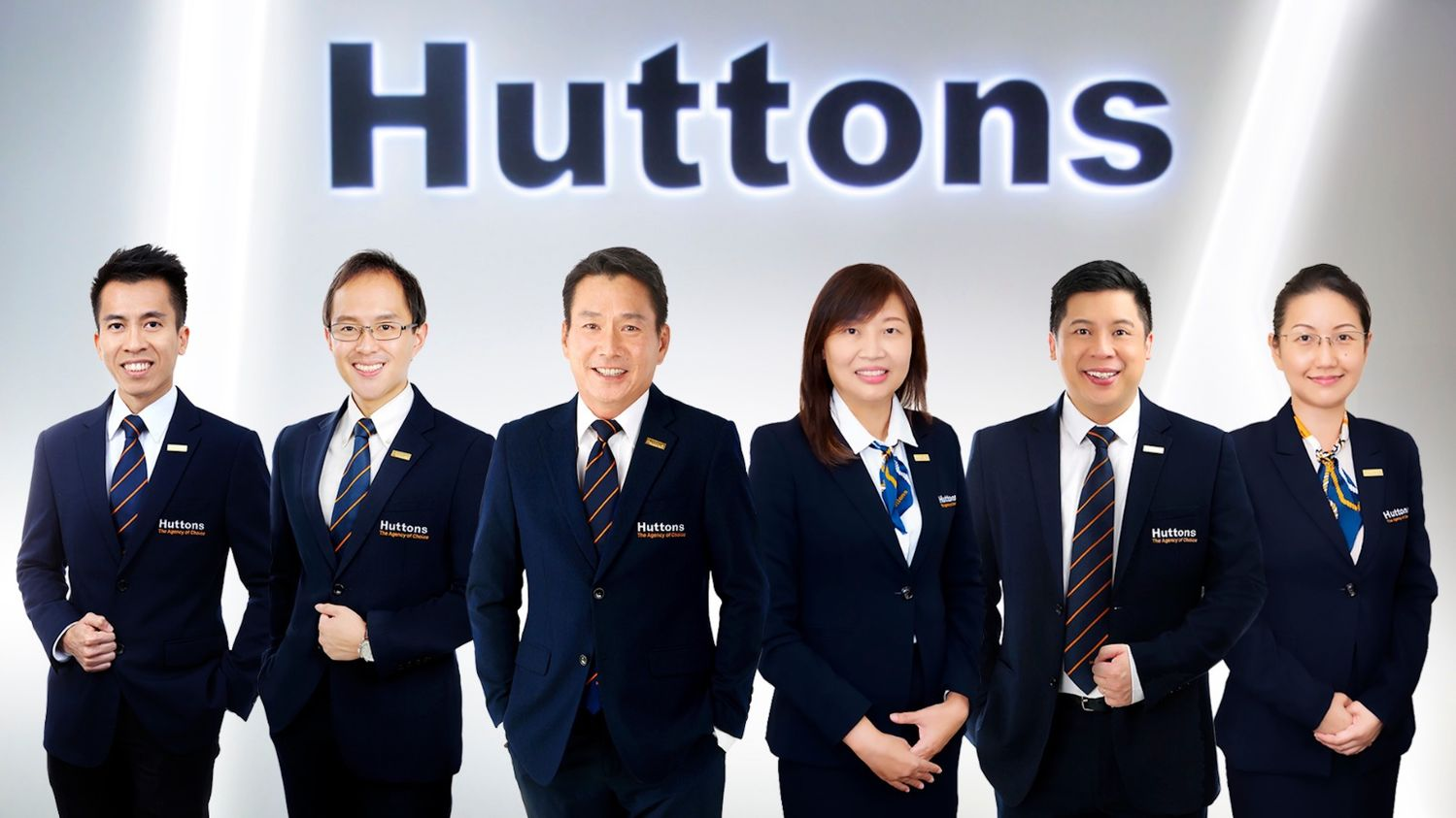 Huttons Asia's management team - EDGEPROP SINGAPORE
