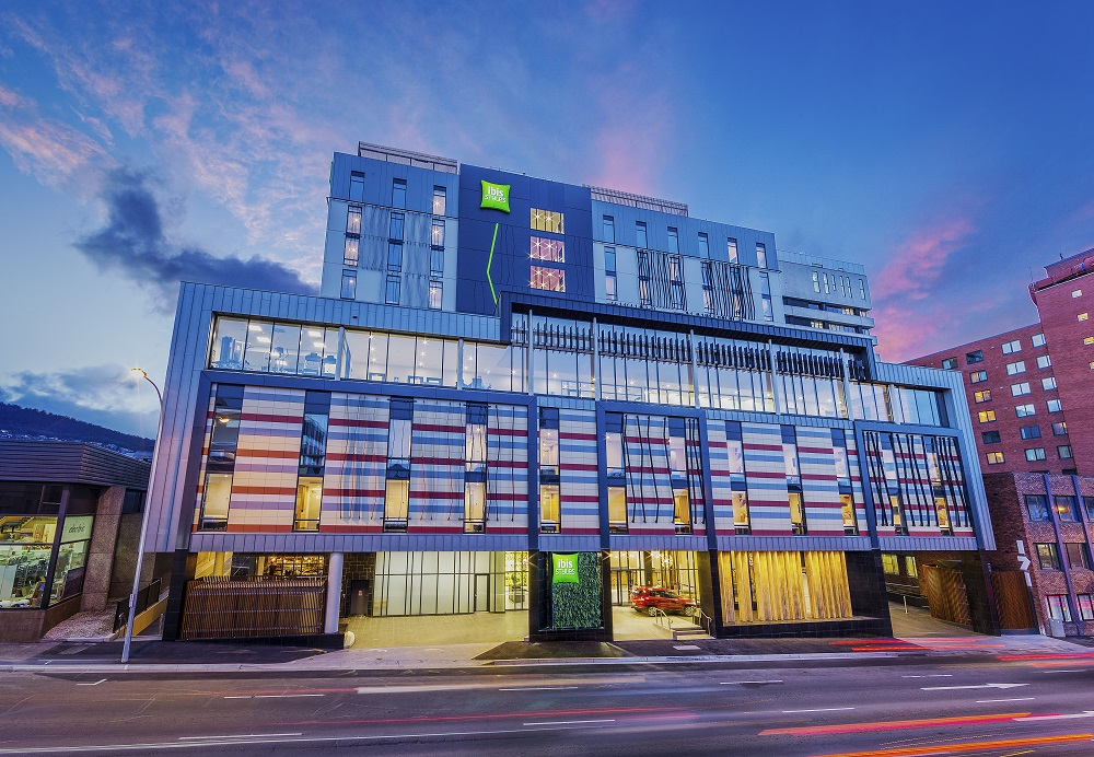 The 296-room ibis Styles in Hobart, Tasmania, was Fragrance Group's first hotel in Australia and is managed by Accor (Photo: Fragrance Group)