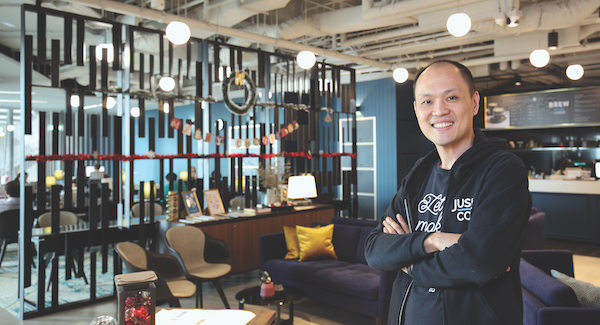 Kong: It's true, we have noticed that landlords and building owners are more cautious and are naturally getting more selective of the co-working space operator that they choose to work with (Photo: Samuel Isaac Chua/EdgeProp Singapore)
