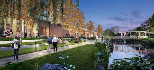 Artist's impression of Ardor Gardens, Lendlease's flagship senior living community in Qingpu district, Shanghai, which will have 850 apartments in a low-rise development with landscaped gardens and waterways (Photo: Lendlease)