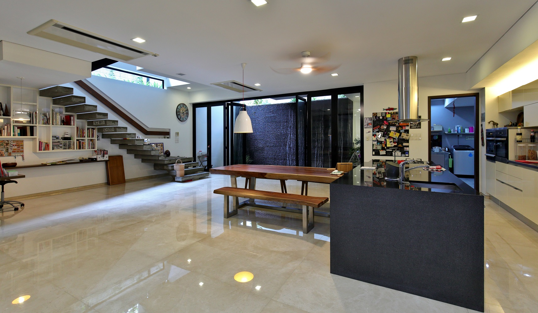 The basement is where the owner and his wife spend most of their time (Photo: Samuel Isaac Chua/EdgeProp Singapore)