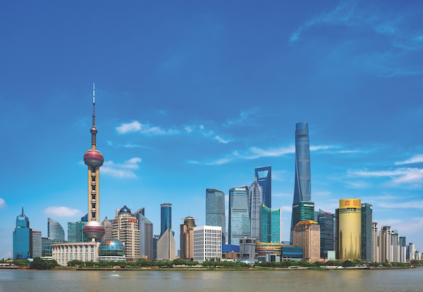 Shanghai, ranked 11th largest city in the world in terms of GDP, is projected to be the fifth largest by 2035 (Photo: Shutterstock)