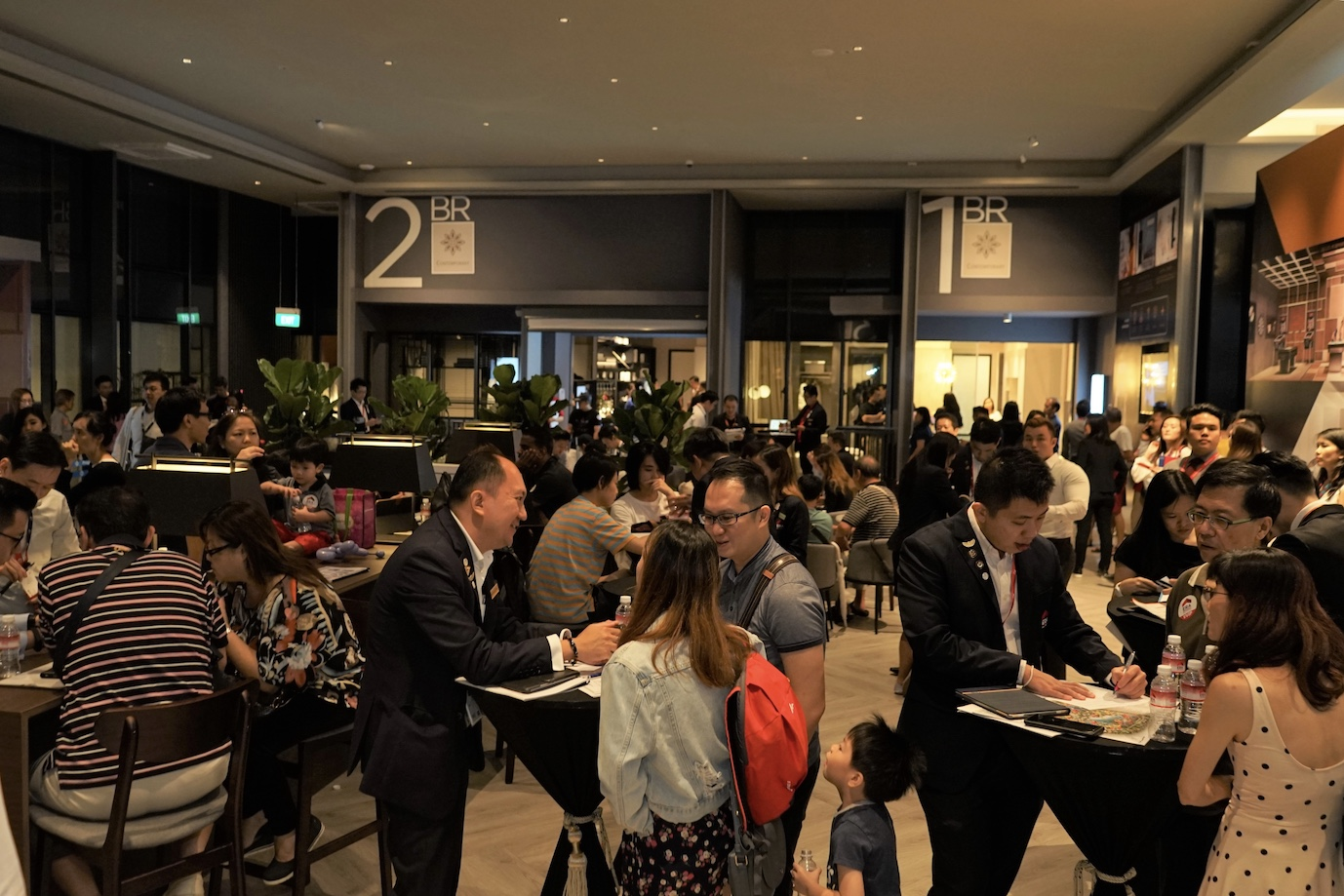 Prospective-homebuyers-at-Parc-Clematis-Sales-Gallery - EDGEPROP SINGAPORE