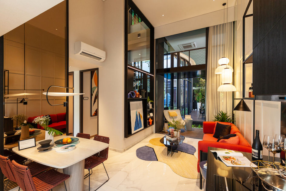 showflat of a two-bedroom - EDGEPROP SINGAPORE